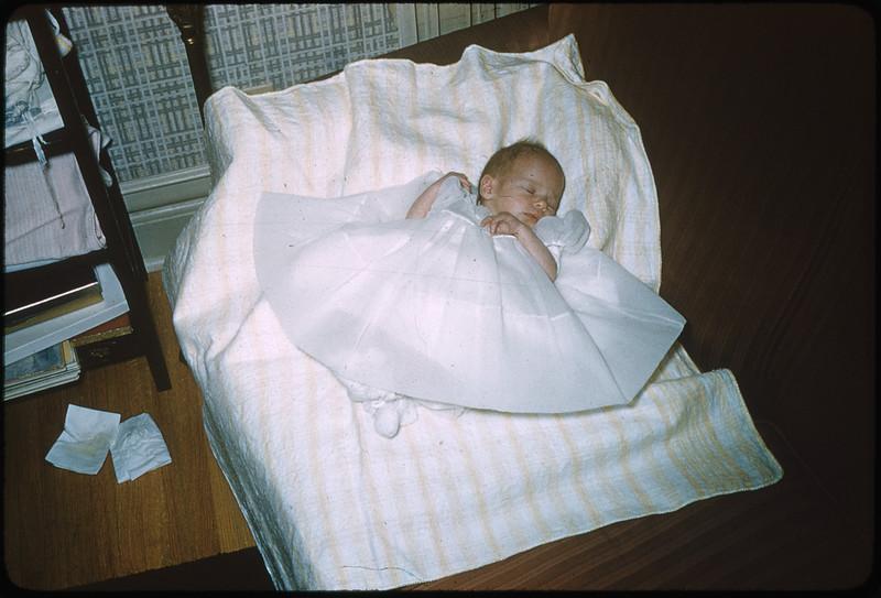 "2/20/1955 ""Deborah Ann"" 35mm Kodachrome slide Mount dated March 1981 (remounted?) Stamped #5"