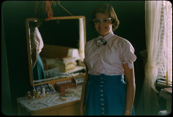 "5/15/1955 ""Karen"" 35mm Kodachrome slide Mount dated March 1981 (remounted?) Stamped #10"