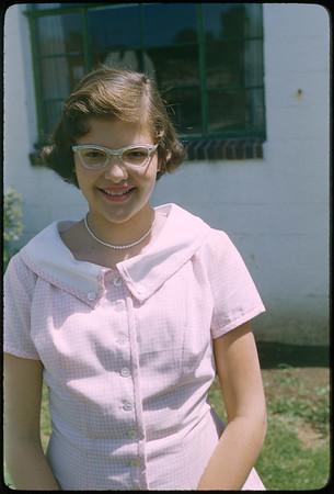 "5/8/1955 ""Karen"" 35mm Kodachrome slide Mount dated March 1981 (remounted?) Stamped #5"