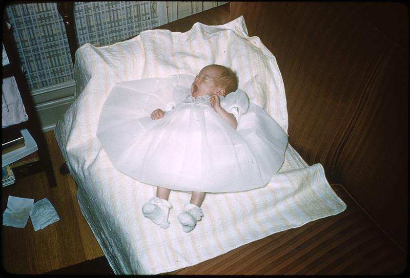 "2/20/1955 ""Deborah Ann"" 35mm Kodachrome slide Mount dated March 1981 (remounted?) Stamped #1"