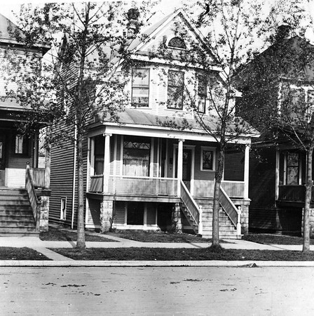 """""""Chas. Knuth House 2238 N. Central park Ave. Chi."""""""