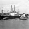 "New Orleans - Mississippi River Envelope label ""New Orleans & Panama City"""