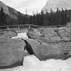 Natural Bridge - Kicking Horse River between Lake Louise and Emerald Lake. July 1937