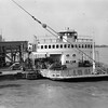 """Ferry - Mississippi River, New Orleans Envelope label """"New Orleans & Panama City"""""""