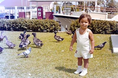 1976-9-12 #6 Dianna & Steve In Florida