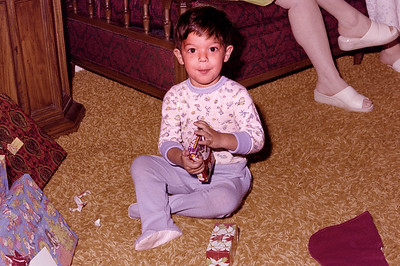 1977-12-25 #1 Anthony 3rd Christmas