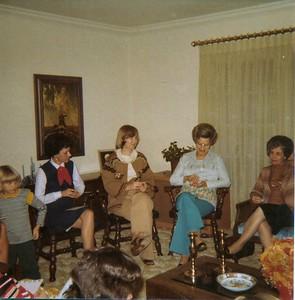 Andrea Kissinger, Judy Dees, Georgia Hattner, Eunice, Janet