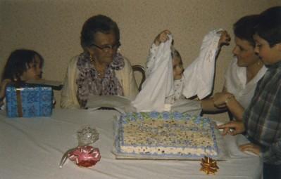Granny Mac 95th - Katie, Granny Mac, Kim, Joann, Chad