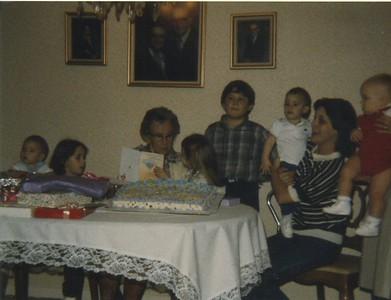 Matt, Katie, Granny Mac, Kim, Chad, Jenna, Georgia, Rob