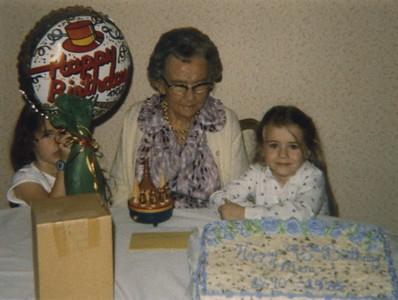 Granny Mac 95th - Katie, Granny Mac, Kim