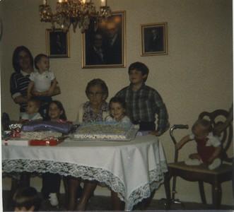 Georgia, Jenna, Matt, Katie, Granny Mac, Kim, Chad, Rob