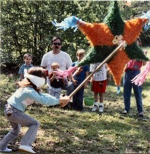 Jenna (pinata), Unknown kid, Gary, Philip, Rob, Unknown kid, Katie