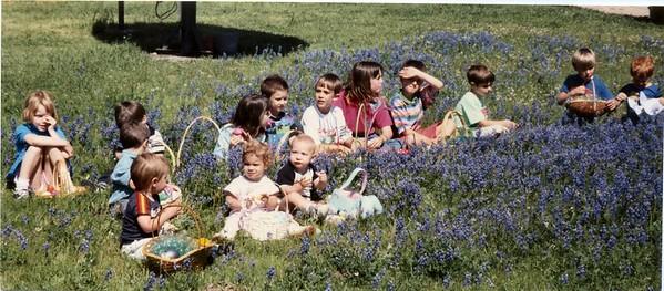 Front: Philip, Erin, Justin Back: Unknown kids, Brandon, Jenna, Matt, Unknown kid, Katie, Chris, Blair, Philip, Unknown kid