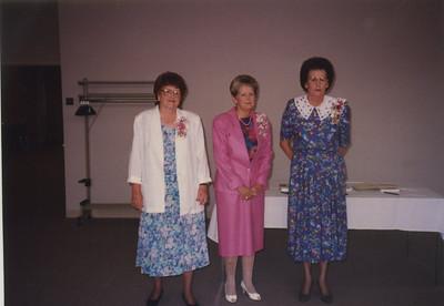 Evelyn Wiese, Martha Bullock, Golda