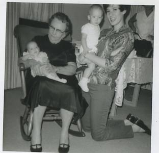Granny Mac, Nancy, unlabeled kids