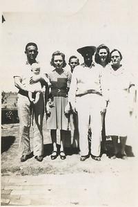 Harry, George Wilburn, Georgia, Kenneth, Rube, Golda, Granny Mac