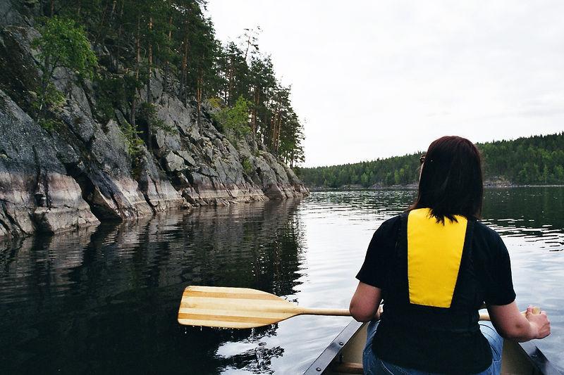 Canoeing in Kolovesi National Park