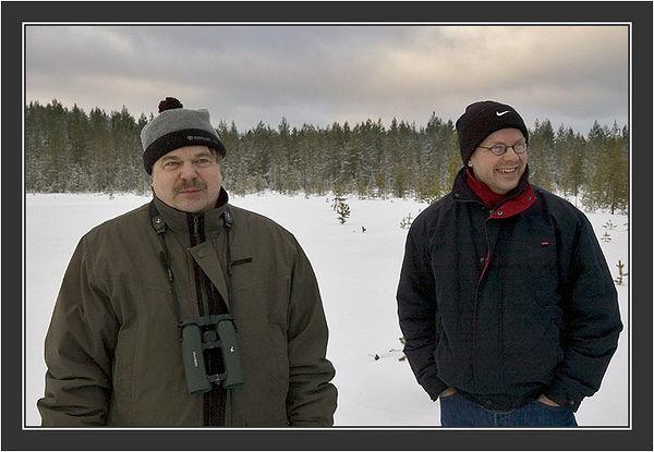 Rauno Alatalo and Jan Lindström