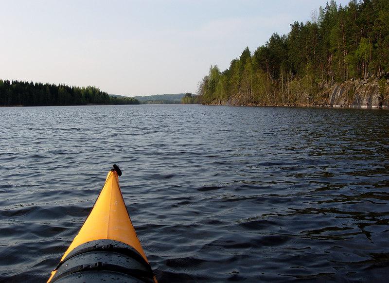 Ruokosalmi and Vuoritsalo Nature Reserve (on the right)