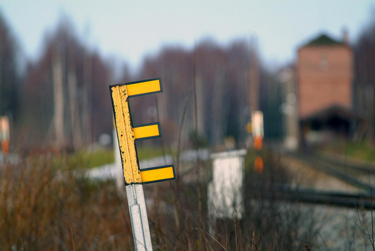 2006/17. E what? Huutokoski Railway Station.