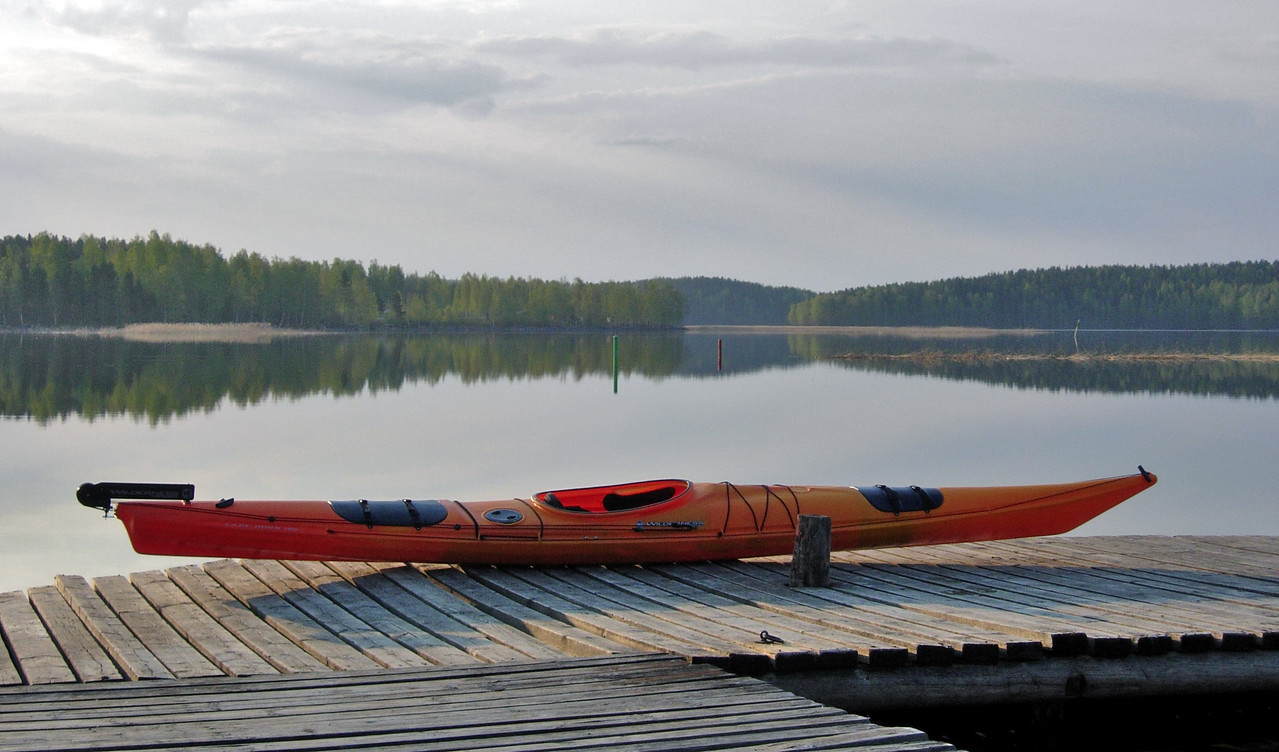 As placid as it can be. Keljo, Jyväskylä.