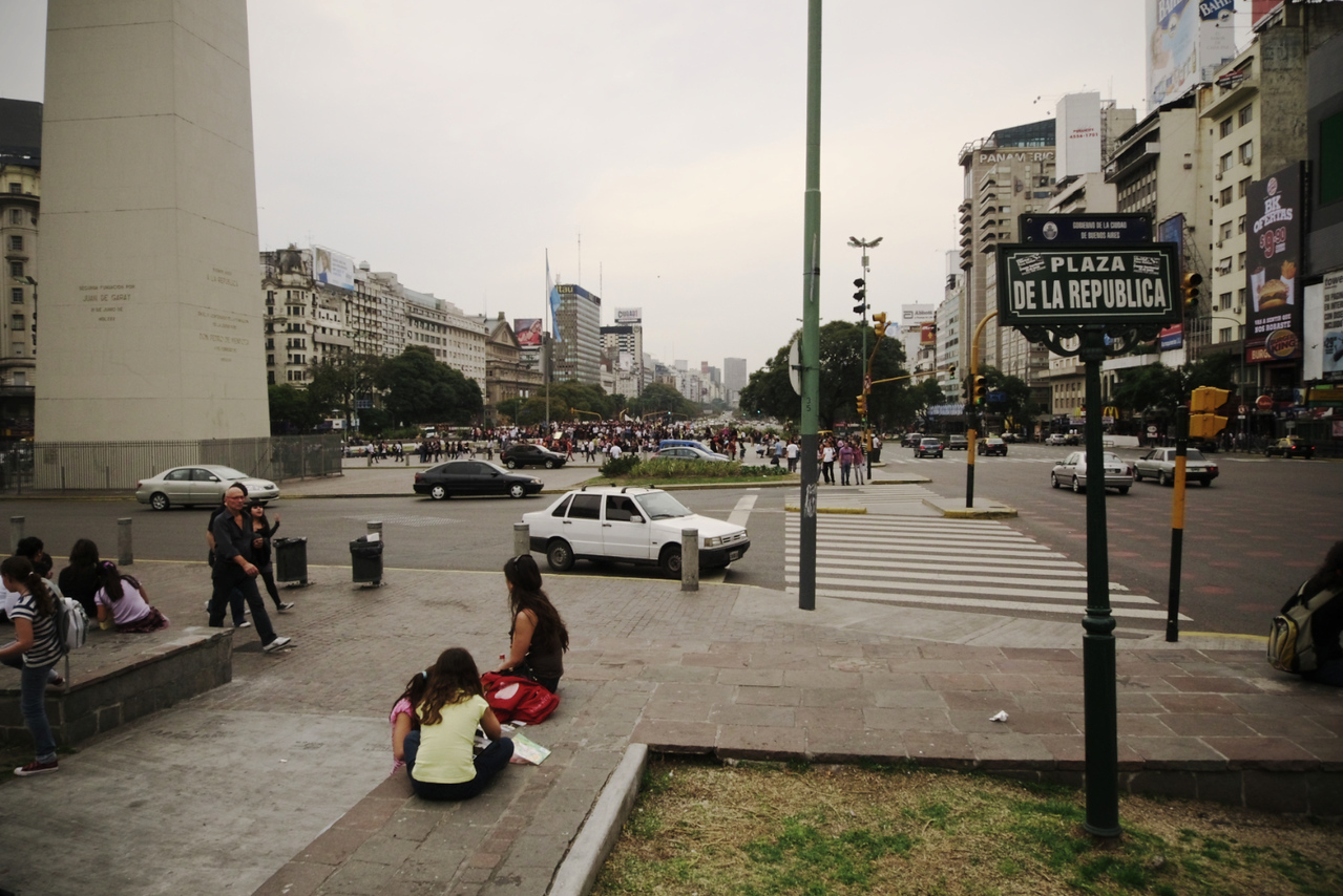 Downtown, Plaza del Republica
