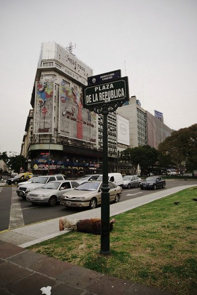 Downtown, Plaza del Republica