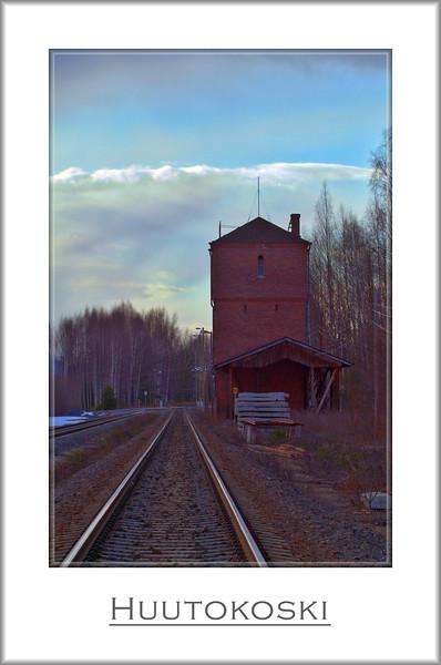 Watertower. Triple exposure HDR.