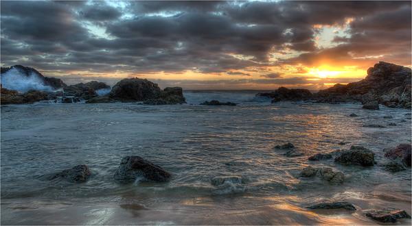 Sunrise at the Backwash