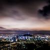 Dark Night Seoul Panorama