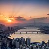 Winter Sunrise, Seoul