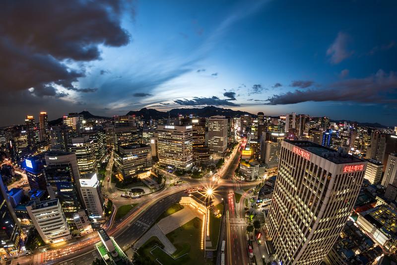 Seoul Cityscape - Namdaemun 2016