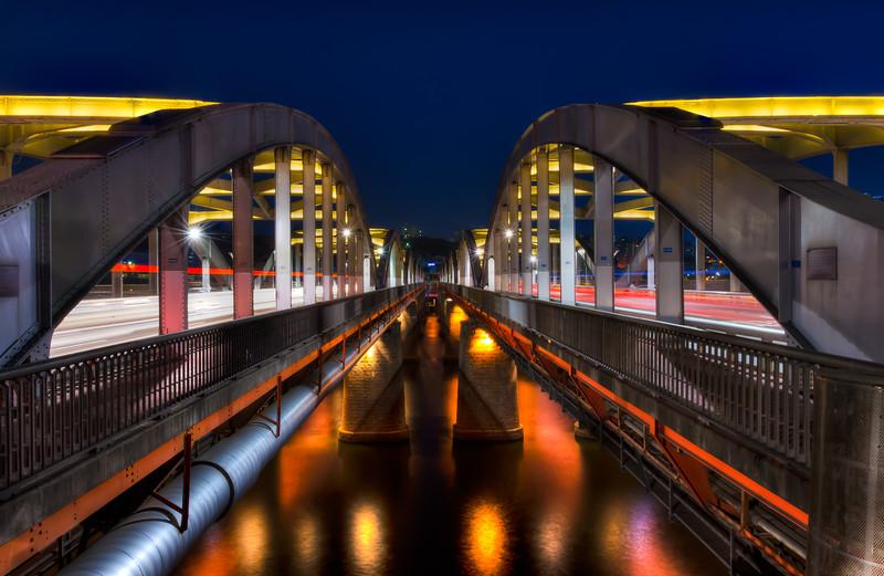 Hangang Bridge at Night