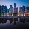 Marine City at Night - Busan, Korea