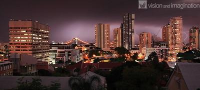 Brisbane CBD Storm