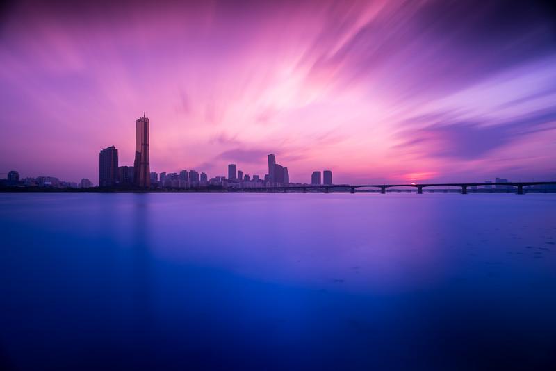 Han River Twilight - Seoul, Korea