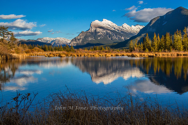 Vermilion Lakes, Mount Rundle