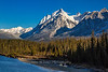 Mount Ishbel, Bow River, Banff National Park