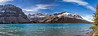 Bow Lake Panorama, Banff National Park
