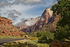 View from the Zion Canyon Scenic Drive