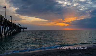 Sunset at the Venice Fishing Pier