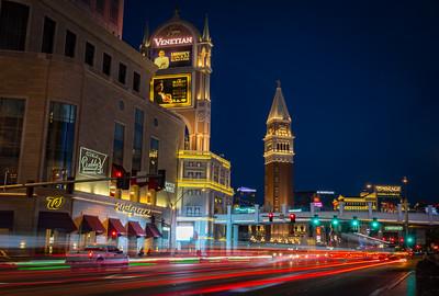 Venetian Light Trails