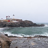 Nubble in snow storm