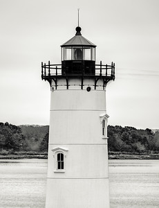 Black and white light house