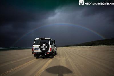 Moonbow (Rainbow at Night)