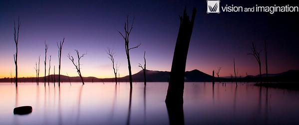 Dawn over Lake Moogerah