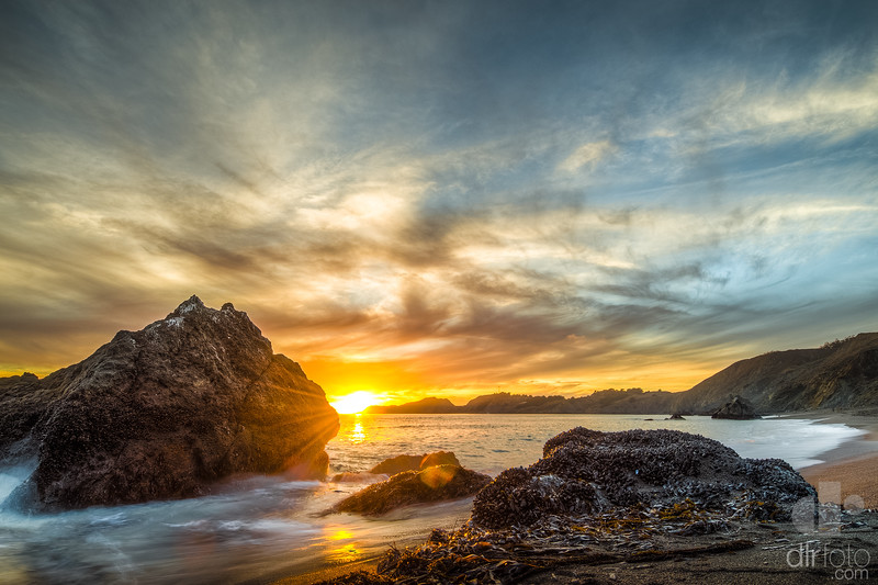 Sunset at the Marin Headlands - Marin