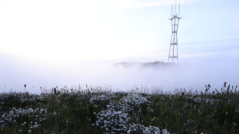 VIDEO | Time lapse of Sutro Tower - San Francisco, CA