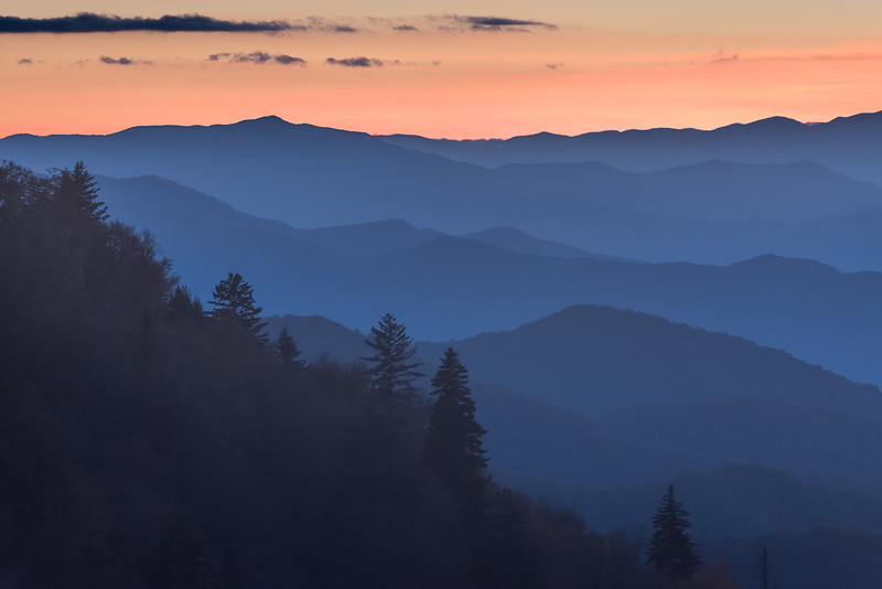 Twilight at Woolyback Overlook
