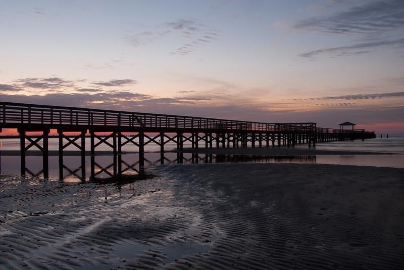 Dawn at Long Beach Pier